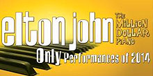 Elton John Las Vegas 2014