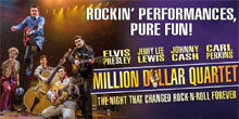 Million Dollar<br /> Quartet Show Las Vegas 2014