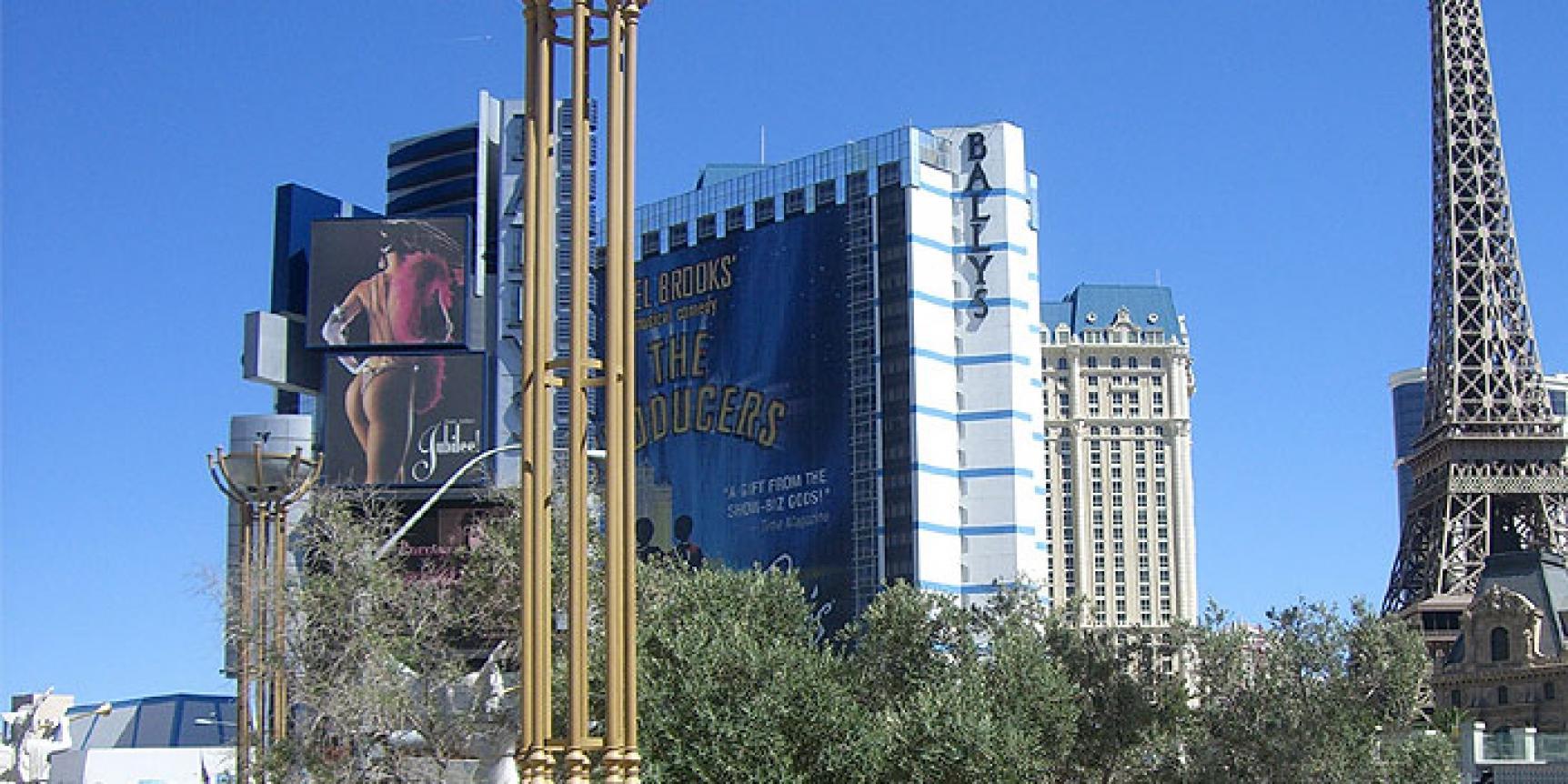 Bally\'s Hotel & Casino in Las Vegas ist direkt am Strip gelegen ...