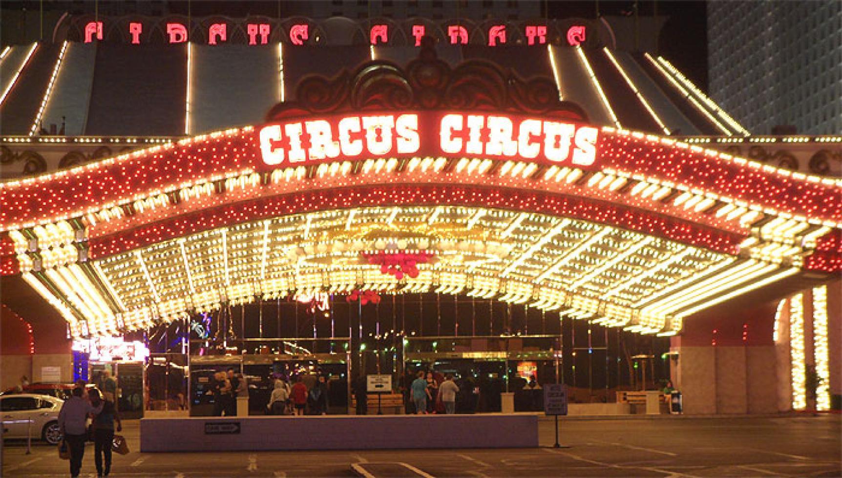 Hotel Circus Circus Las Vegas Haupt Eingang
