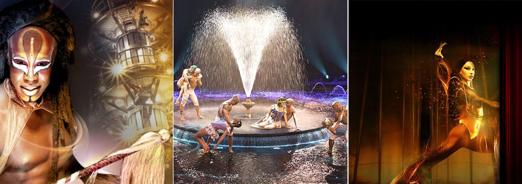 Die Shows in Las Vegas - online Übersicht
