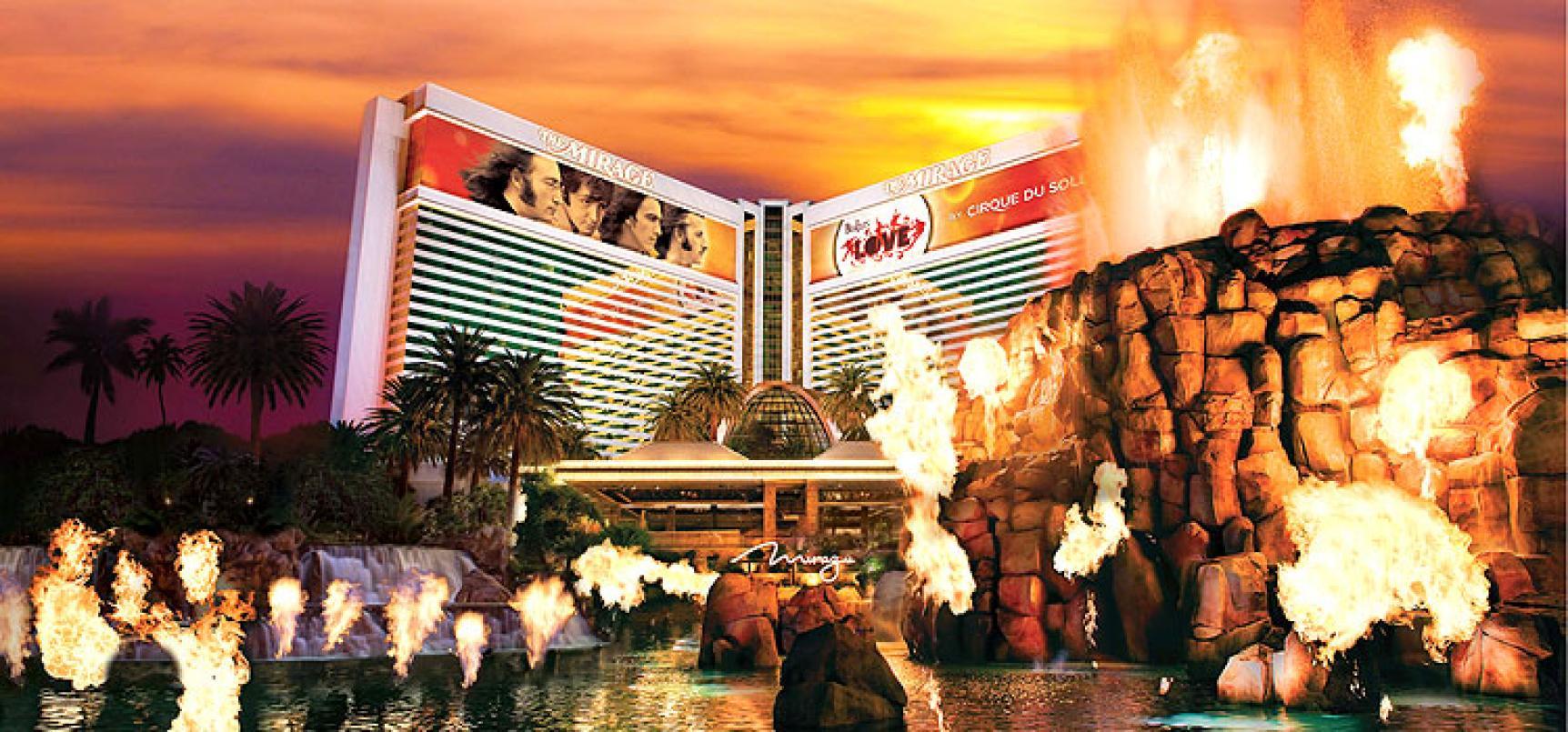 Mirage Hotel und Casino Las Vegas