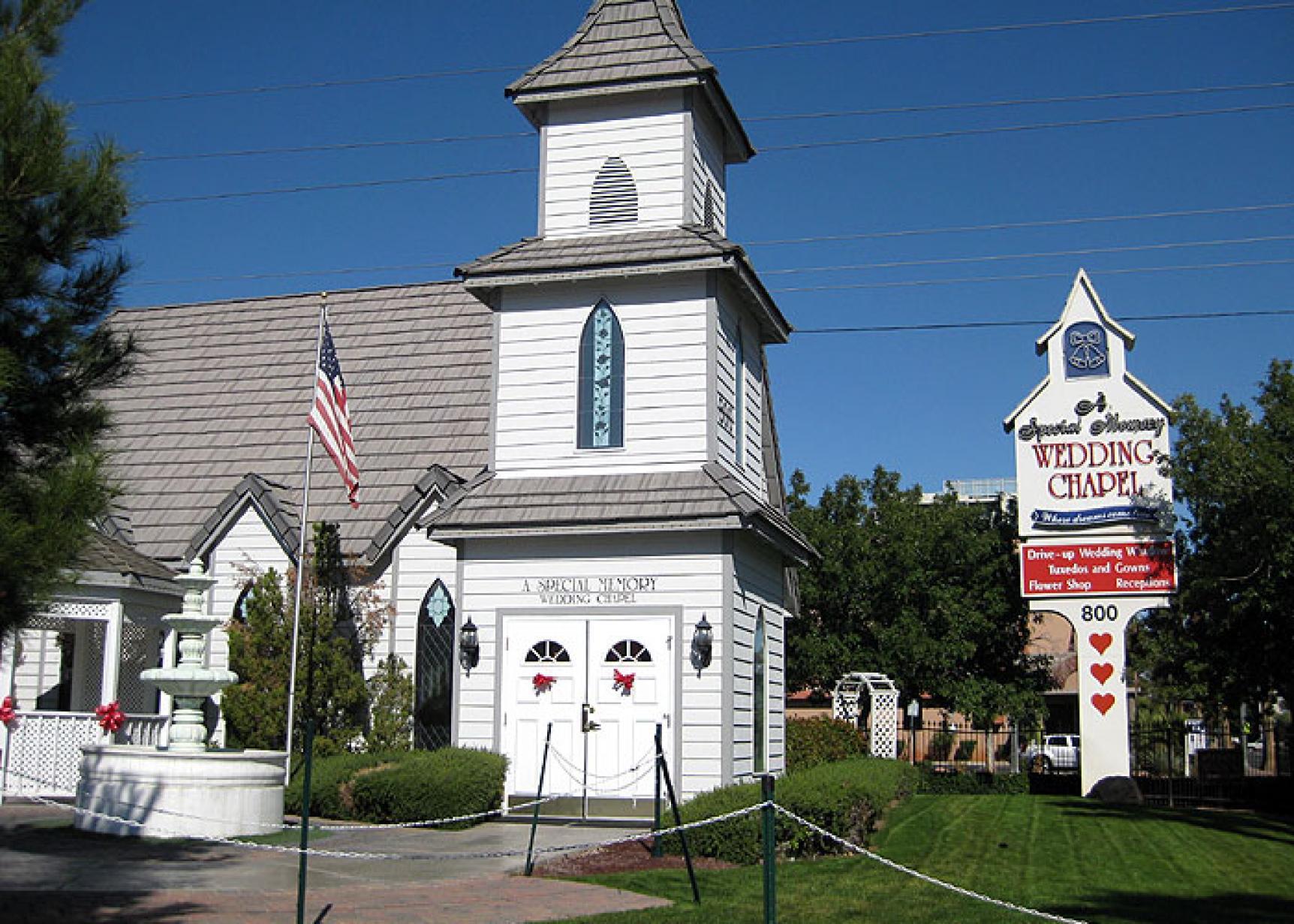 Special Memory Wedding Chapel